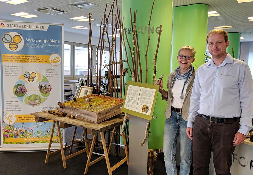 SWL-Kundenzentrum: Ausstellung thematisiert Insektensterben!